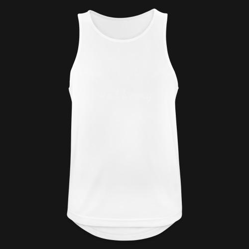 Walkeny in weiß - Männer Tank Top atmungsaktiv