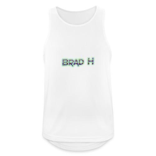 Official Brad H Logo - Men's Breathable Tank Top