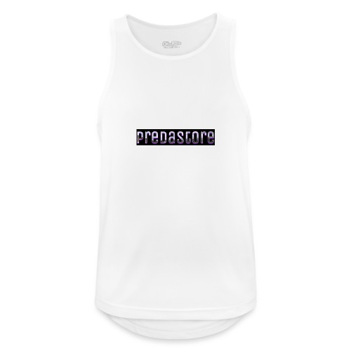 PredaStore Original Logo Design - Men's Breathable Tank Top