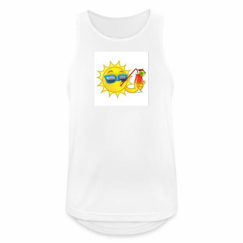 Soleil en vacance - Débardeur respirant Homme