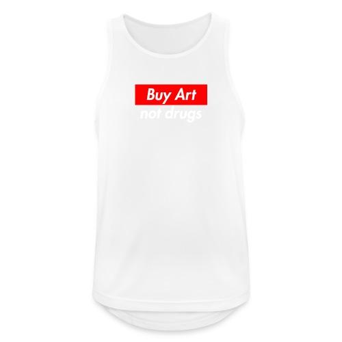 Buy Art Not Drugs - Miesten tekninen tankkitoppi
