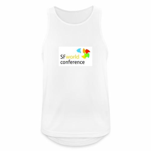 SFworldconference T-Shirts - Männer Tank Top atmungsaktiv