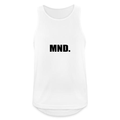 MND. - Mannen tanktop ademend actief