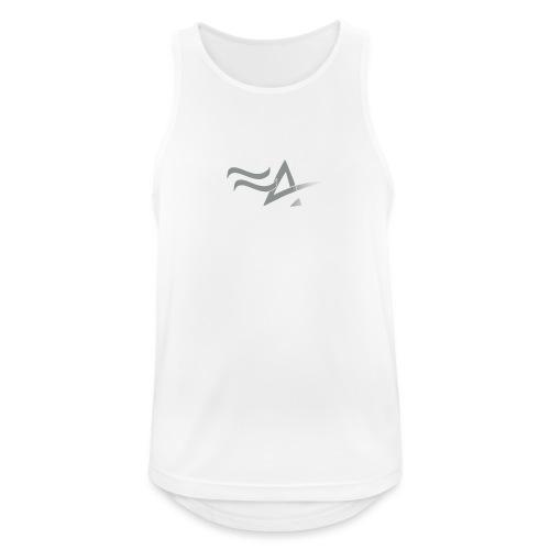 Fitness Addict Logo - Grey - Débardeur respirant Homme