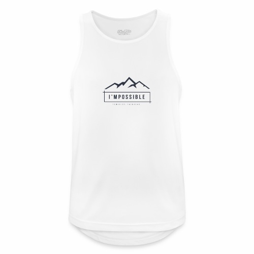 Impossible - Men's Breathable Tank Top
