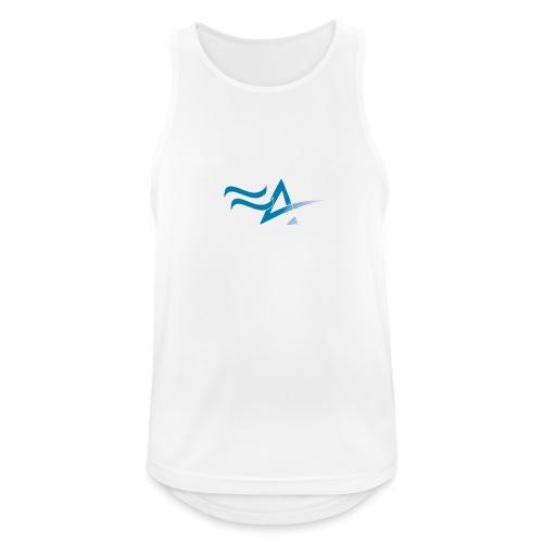Fitness Addict Logo - Blue - Débardeur respirant Homme