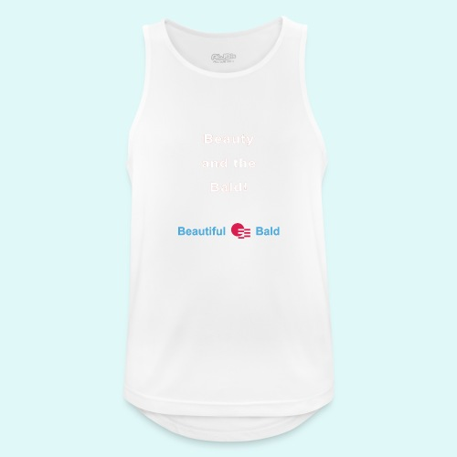 Beauty and the bald-w - Mannen tanktop ademend actief