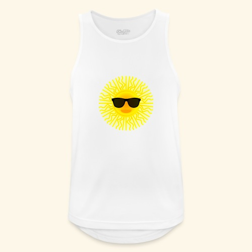 Sol de Canarias - Camiseta sin mangas hombre transpirable