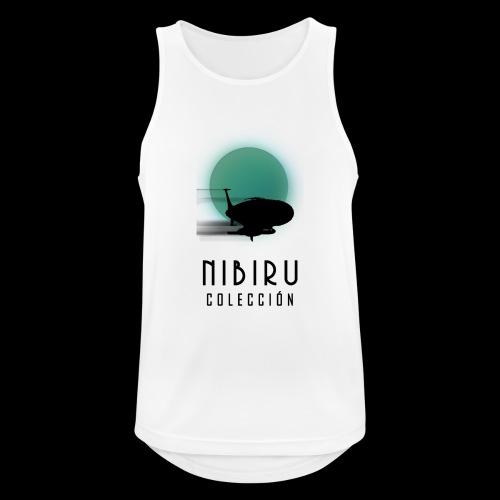 NibiruLogo - Camiseta sin mangas hombre transpirable