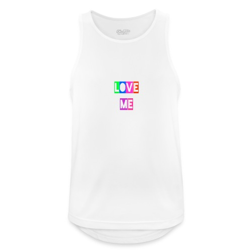 LoveMe - Camiseta sin mangas hombre transpirable