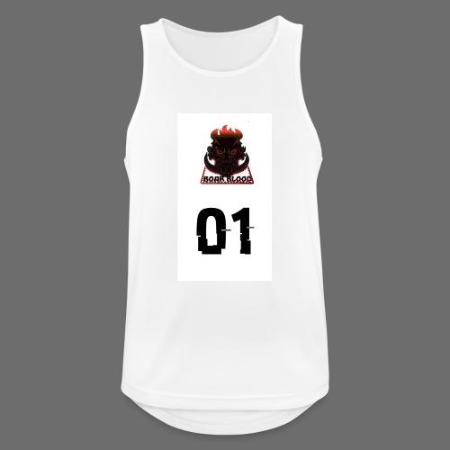 Boar blood 01 - Tank top męski oddychający