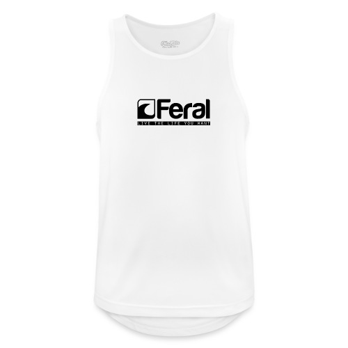 Feral Surf - Live the Life - Black - Men's Breathable Tank Top