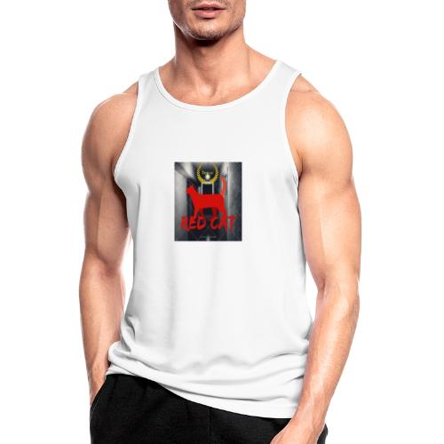 Red Cat (Deluxe) - Men's Breathable Tank Top