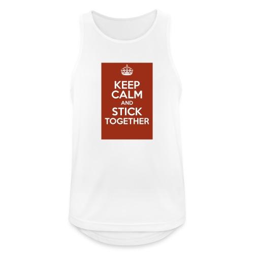 Keep calm! - Men's Breathable Tank Top