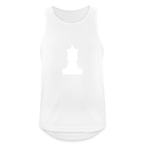 Queen White - Men's Breathable Tank Top