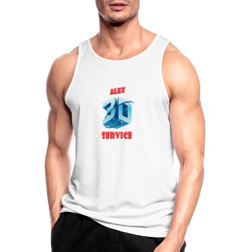 logo emporesa de impresion 3d en albacete - Camiseta sin mangas hombre transpirable