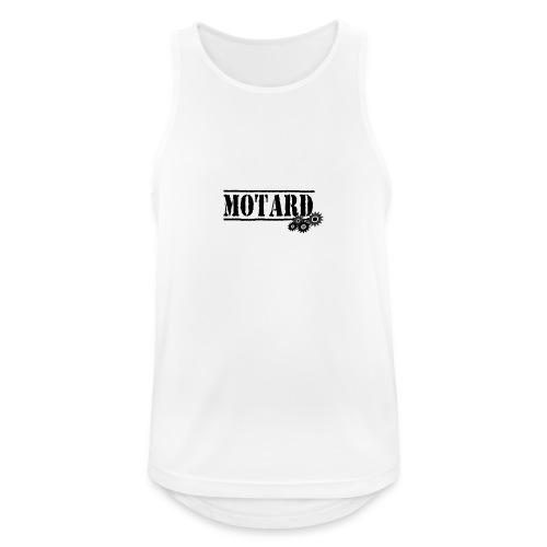 Motard Logo - Canotta da uomo traspirante