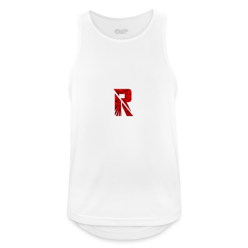 RaZe R Logo - Men's Breathable Tank Top