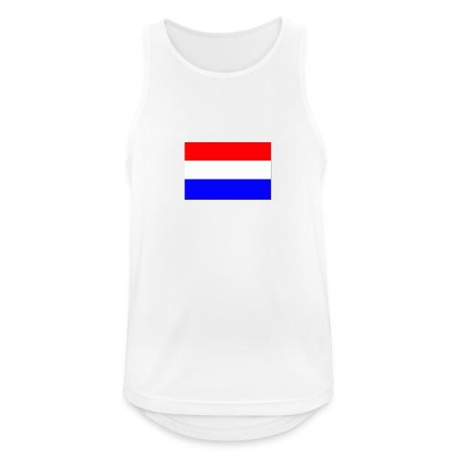 vlag nl - Mannen tanktop ademend actief