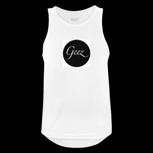 black/white texture - Men's Breathable Tank Top