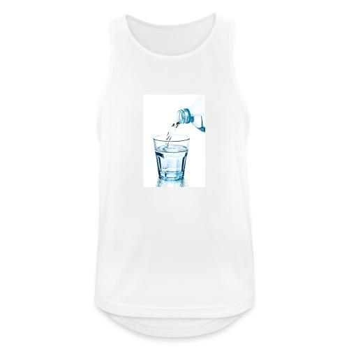 Glas-water-jpg - Mannen tanktop ademend