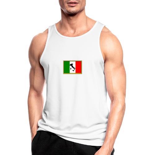 Bandiera Italiana2 - Canotta da uomo traspirante