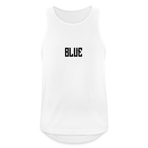 BLUE zwart - Mannen tanktop ademend actief