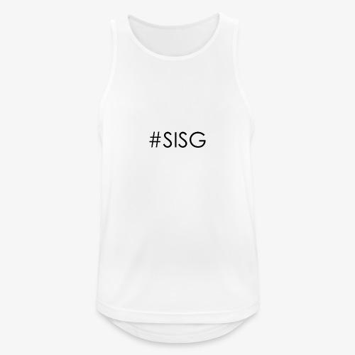 #SISG - Männer Tank Top atmungsaktiv