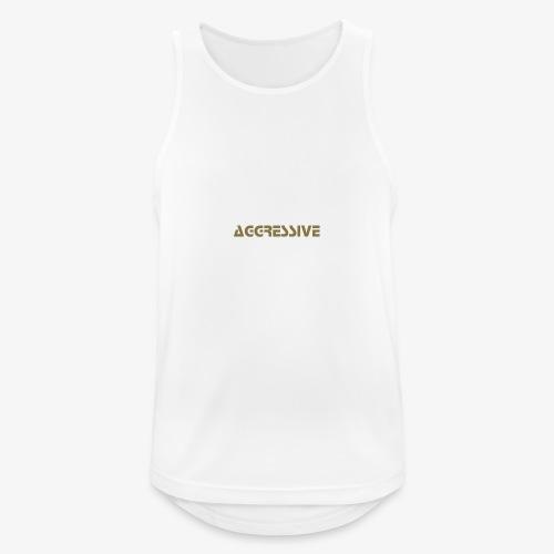 Aggressive Name - Camiseta sin mangas hombre transpirable