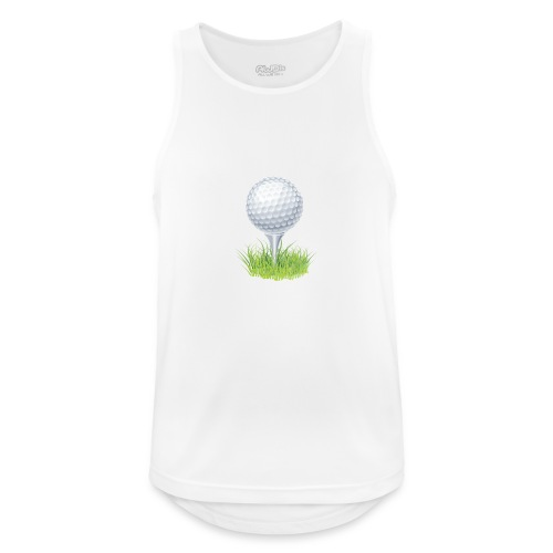 Golf Ball PNG Clipart - Camiseta sin mangas hombre transpirable