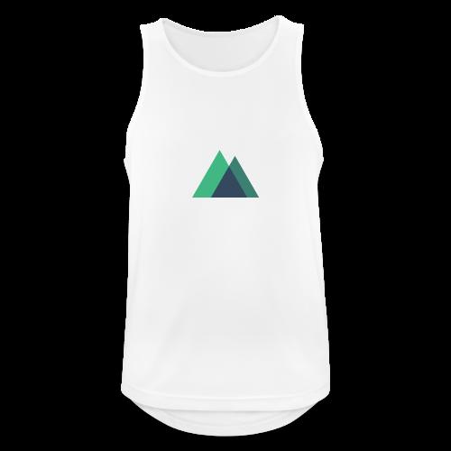 Mountain Logo - Men's Breathable Tank Top