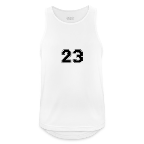 23 jordan - Camiseta sin mangas hombre transpirable