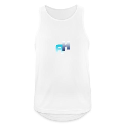 Logo-1 - Canotta da uomo traspirante
