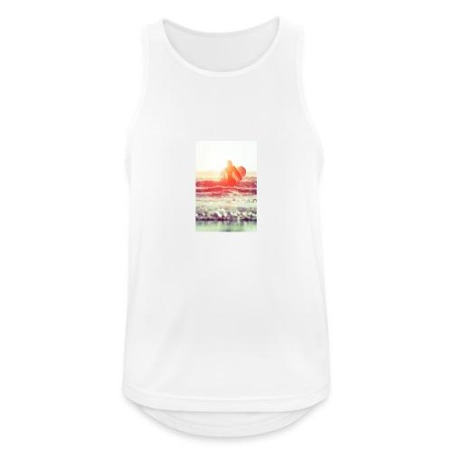 sunset surf jpg - Men's Breathable Tank Top