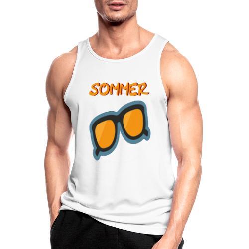 Sommer Sonnenbrille - Männer Tank Top atmungsaktiv