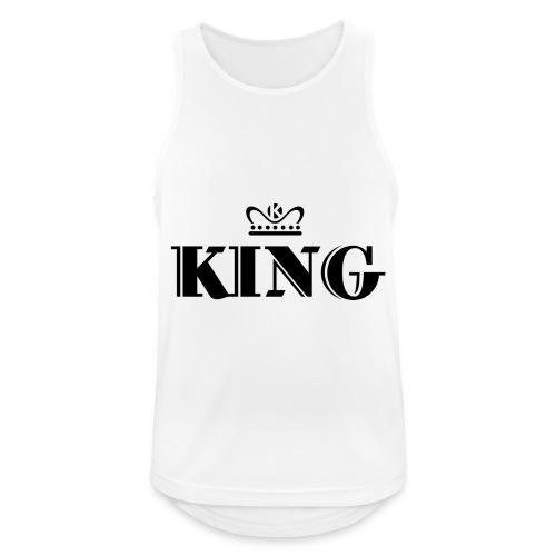 King - Männer Tank Top atmungsaktiv
