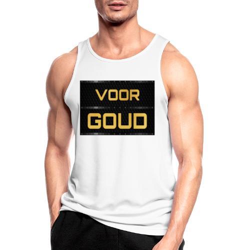VOOR GOUD - Fitness Collection - Mannen tanktop ademend actief