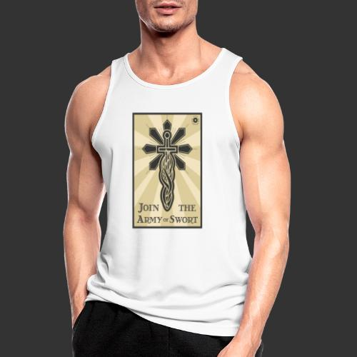 Join the Army of Swort - Men's Breathable Tank Top