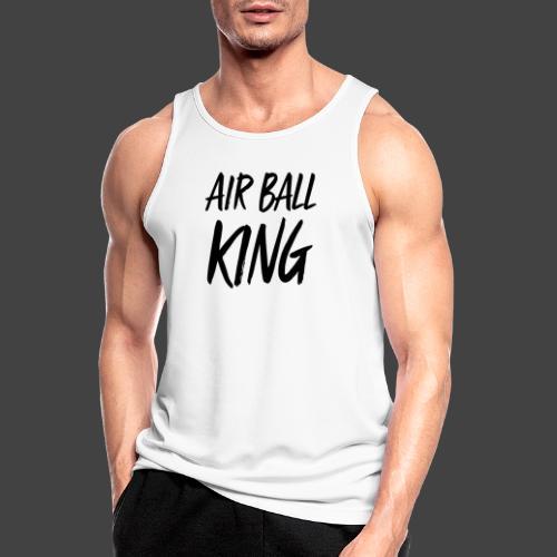 Air Ball King - Männer Tank Top atmungsaktiv