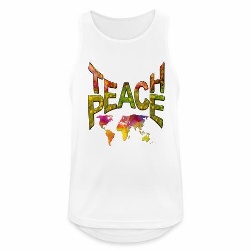 Teach Peace - Men's Breathable Tank Top