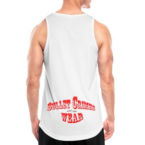 Bulletcrimeslogo2 - Camiseta sin mangas hombre transpirable