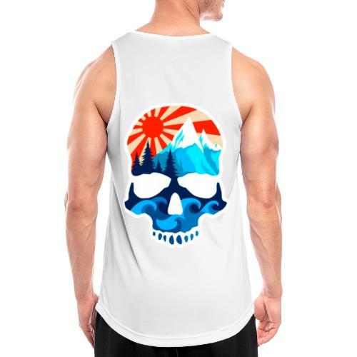 Logo clean - Männer Tank Top atmungsaktiv