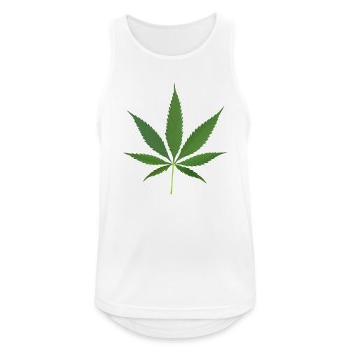 2000px-Cannabis_leaf_2 - Herre tanktop åndbar