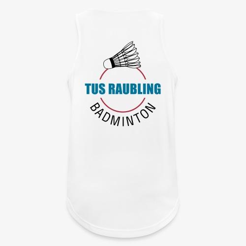 TuS Raubling Badminton Trikot Rückseite - Männer Tank Top atmungsaktiv
