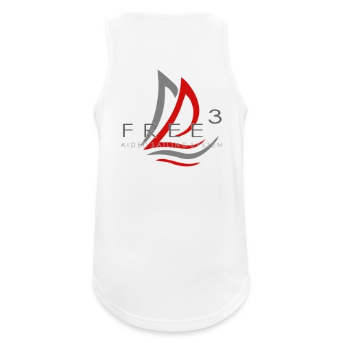 Free3 Aided Sailing System - Canotta da uomo traspirante