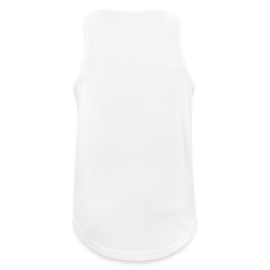 All White - Men's Breathable Tank Top