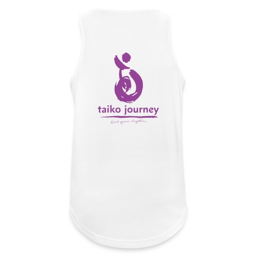 Taiko Journey PURPLE RHYTHM - Men's Breathable Tank Top