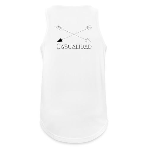 CASUALIDAD arrows - Canotta da uomo traspirante