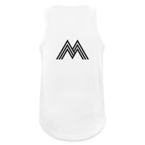 Merchandise With Deejay Michiel logo - Mannen tanktop ademend actief