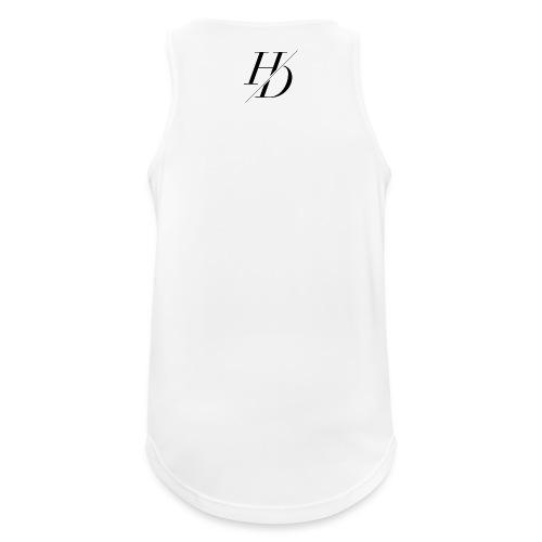 H&D Logo - Männer Tank Top atmungsaktiv